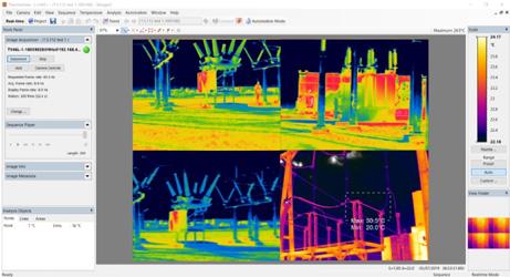 TV40 Thermal Imager in utilities monitoring